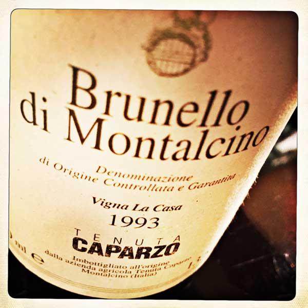 Vigna La Casa Brunello di Montalcino 1993 von Caparzo im wineroom