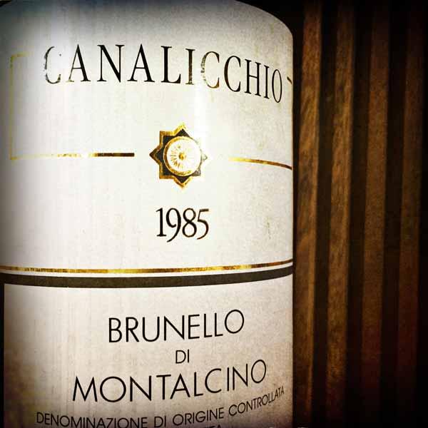 Brunello di Montalcino von 1985 von Canalicchio im wineroom
