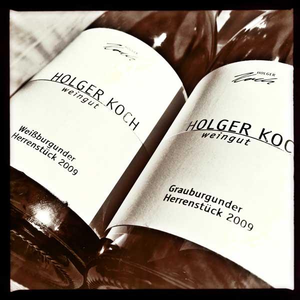 Holger Koch Herrenstück Weiß- und Grauburgunder 2009