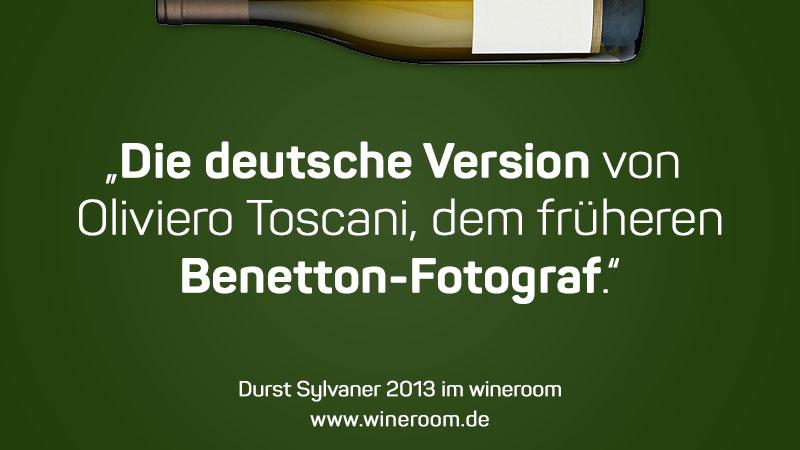 Die deutsche Ausgabe des früheren Benetton-Fotograf