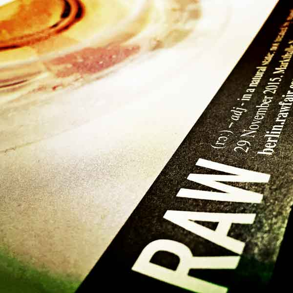 RAW Wine Fair Berlin 2015