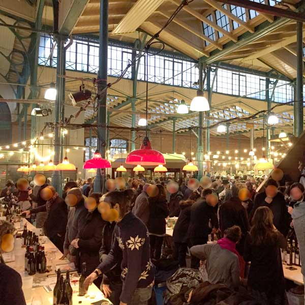 RAW Wine Fair 2015 in der Berliner Markthalle Neun.