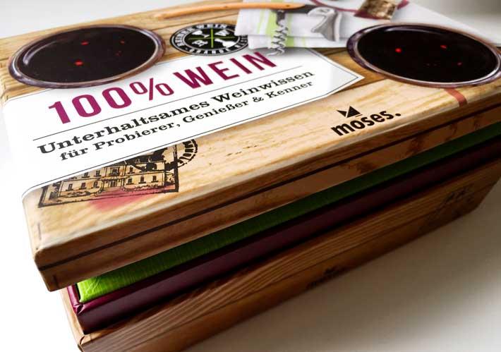 100% Wein – Weinwissen für Probierer, Genießer & Kenner