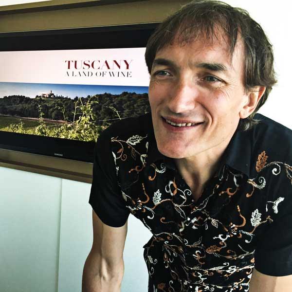 Weinteacher Ed Richter aus Hamburg präsentiert Brunello & Co.