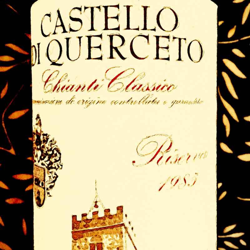 Castello di Querceto Chianti Classico Riserva 1985