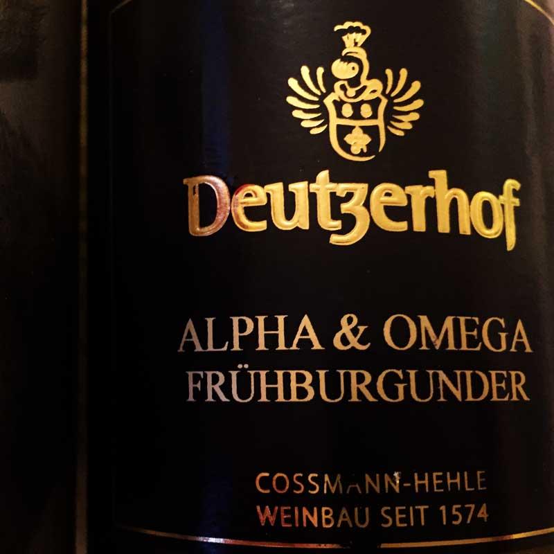 Deutzerhof Alpha & Omega Frühburgunder 2011