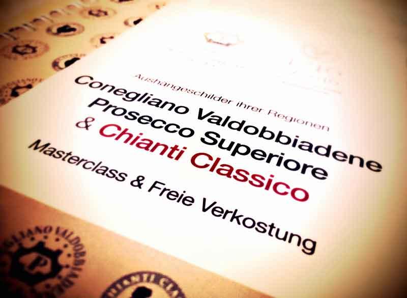 Masterclass Prosecco Superiore & Chianti Classico