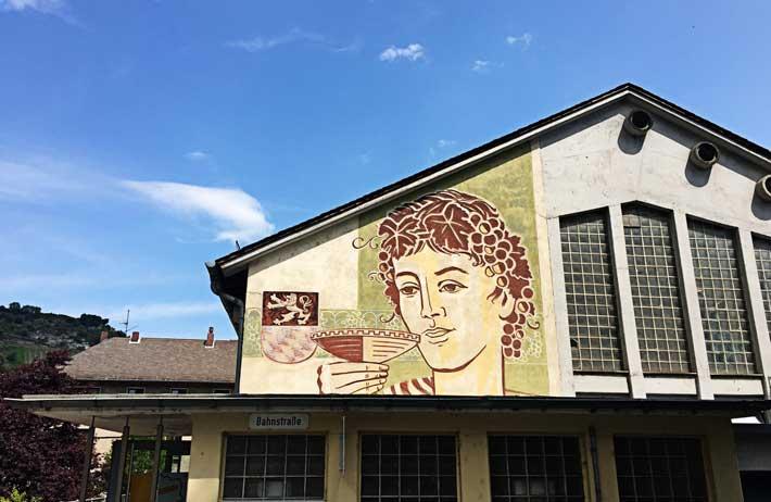 Mittelrheinhalle mit Fresken-Maltechnik