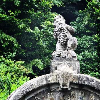 Mythos Mosel: Bacchus in Stein gehauen