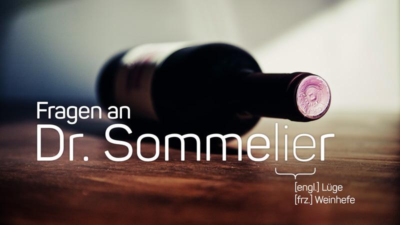 Fragen an Dr. Sommelier – und der Wein- und Lebens-Experte im wineroom antwortet