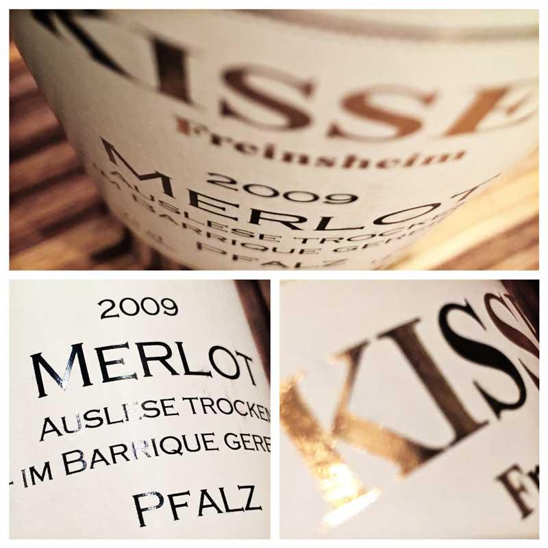 Kissel 2009 Merlot