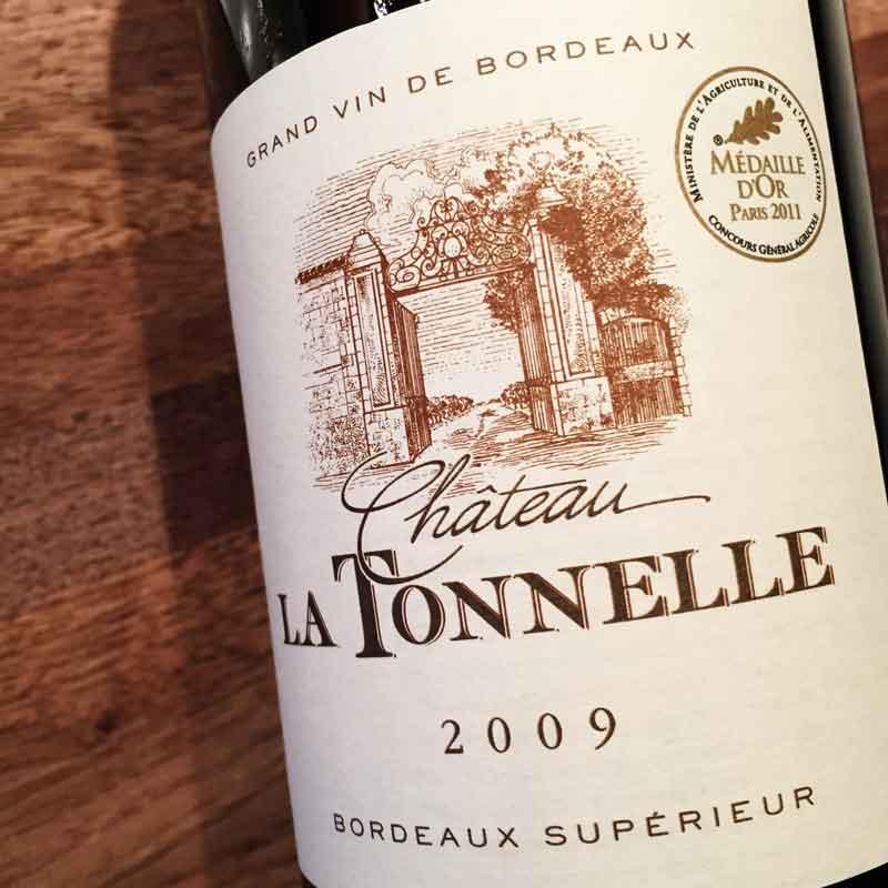 Château La Tonnelle 2009