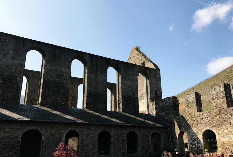 Die Ruine von Kloster Marienthal