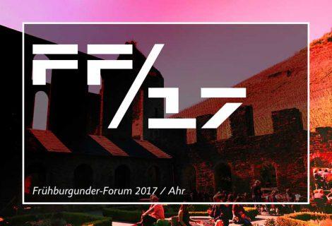 Frühburgunder-Forum im Kloster Marienthal