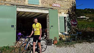 Titelbild der nominierten Story von Wein-Journalist Ed Richter an der Rhône