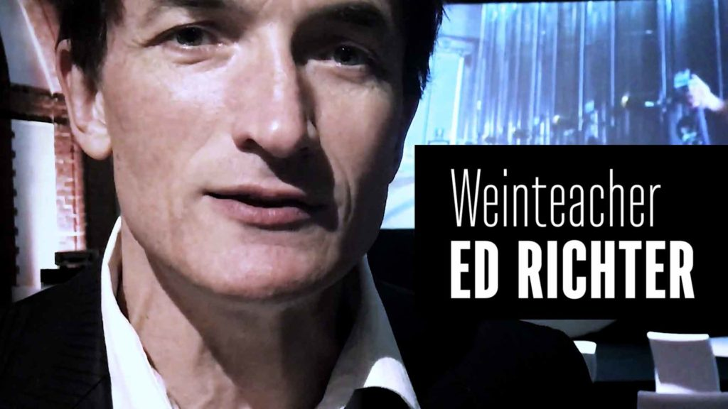 Sommelier & Weinteacher Ed Richter im Video