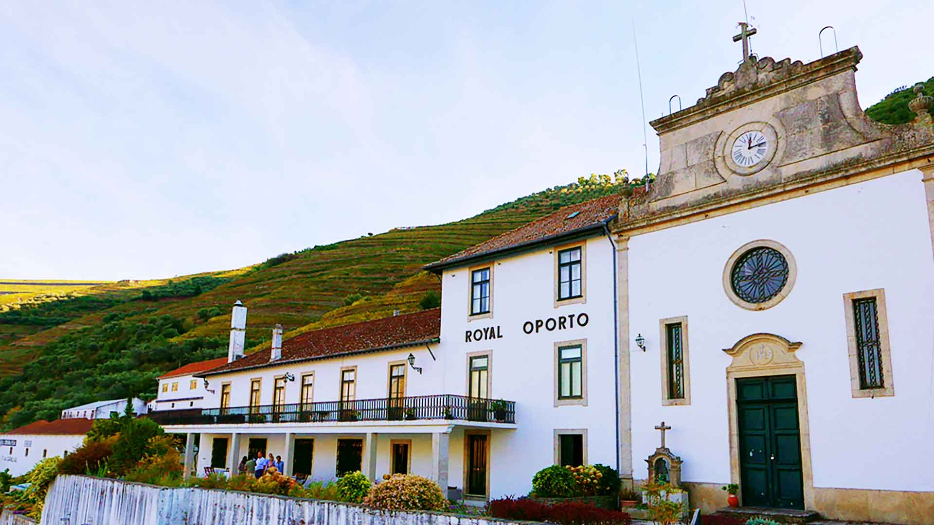 Building of Quinta das Carvalhas