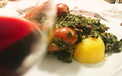 Kale and wine – is that possible? A daring food-pairing test of courage