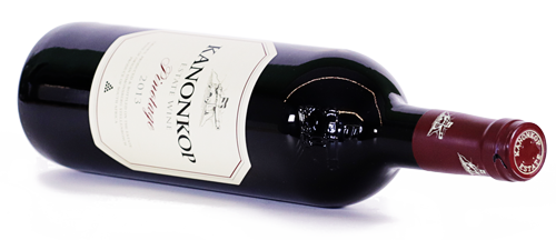 Food pairing wine with green cabbage bottle of Kanonkop Pinotage