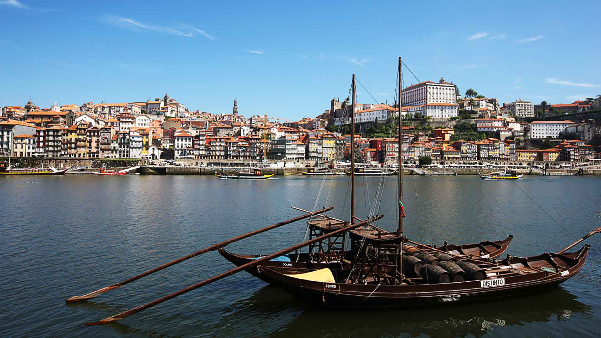 Porto historical Harbour