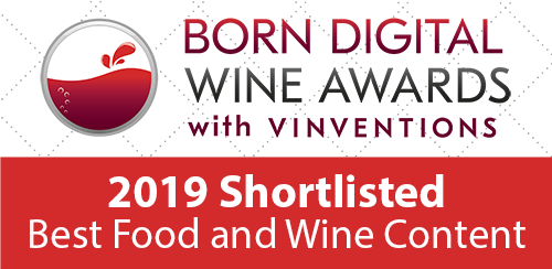 Badge des Born Digital Wine Awards