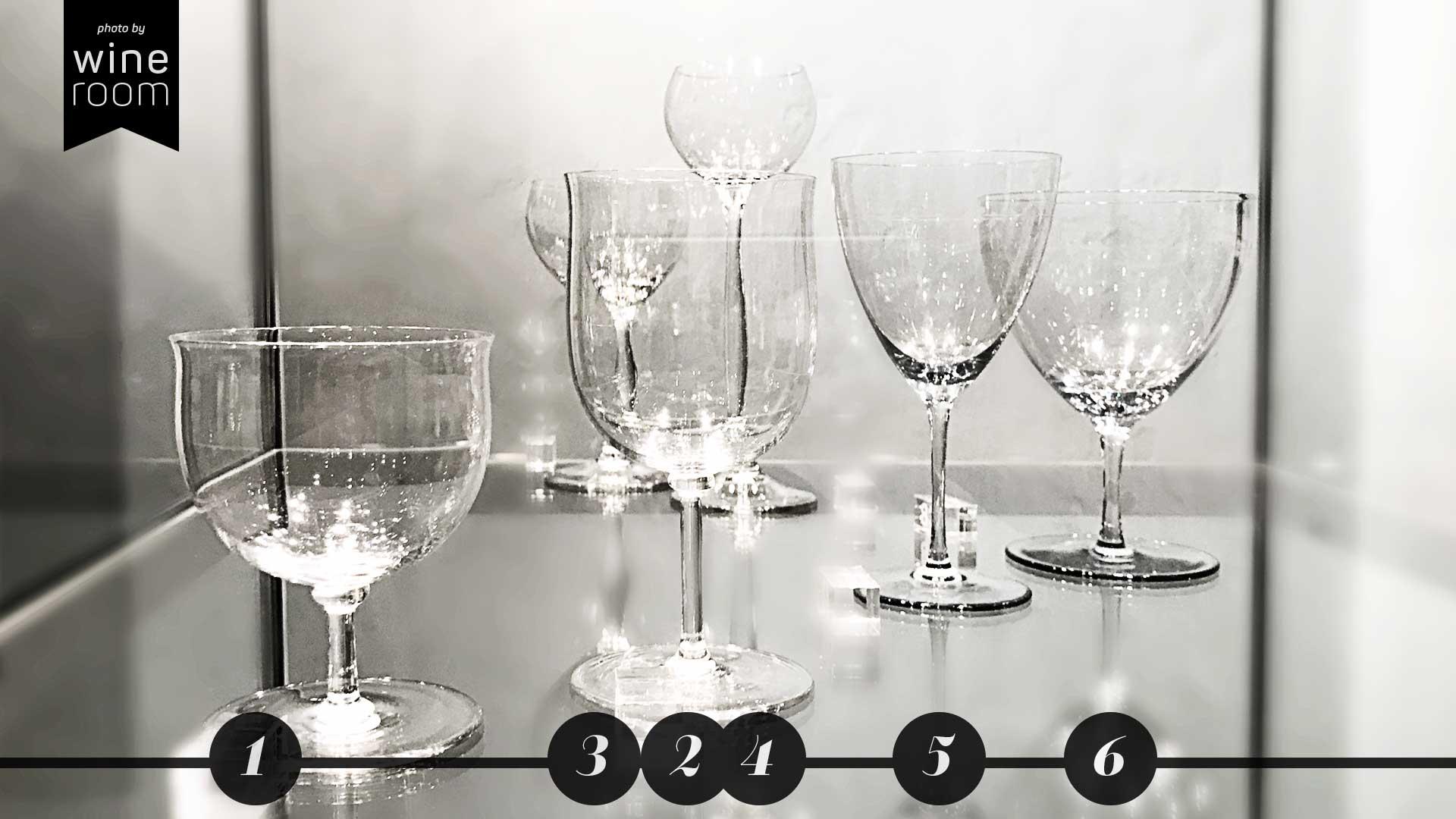 Weingläser aus 4 Jahrhunderten Sammlung Christian Jentsch: Gläser von Wilhelm Wagenfeld und Peter Behrens
