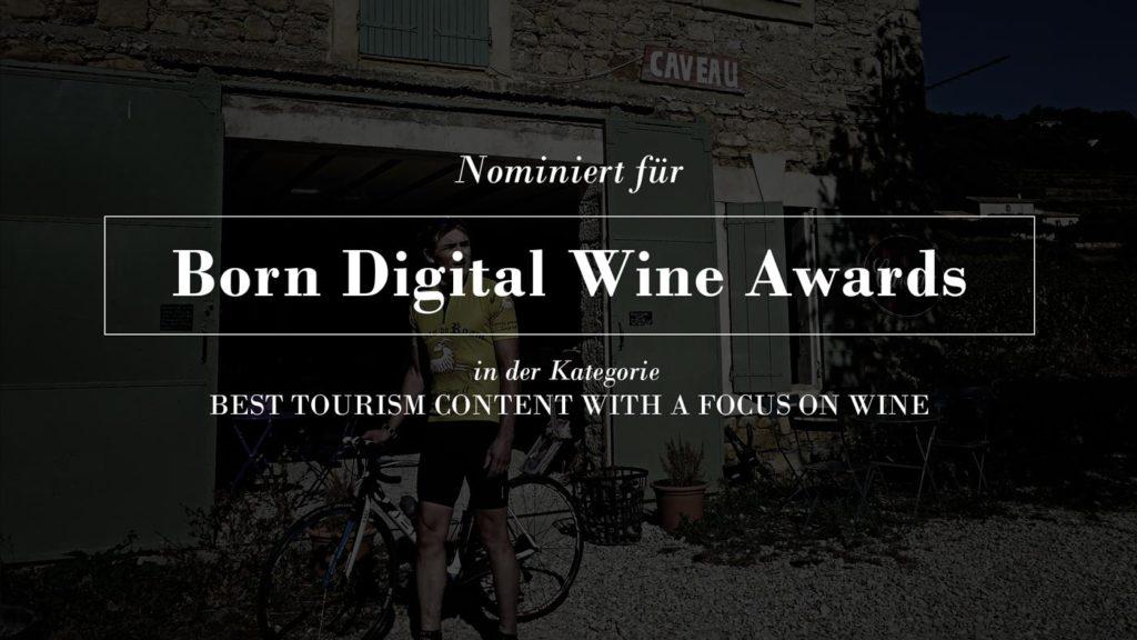 Ed Richter ist nominiert für Born Digital Wine Awards