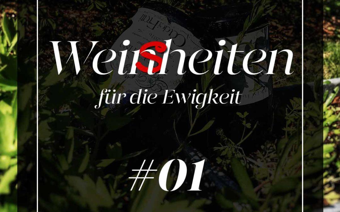 Wein-Weisheit #01: Wo man trinkt Brolettino …