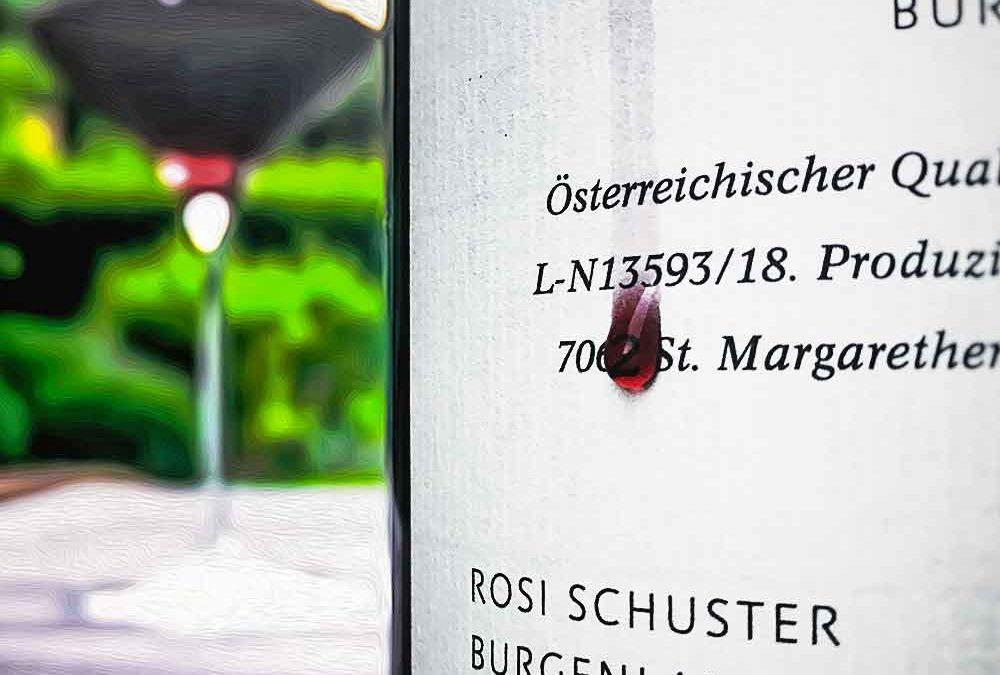 Weingut Rosi Schuster Blaufränkisch 2017