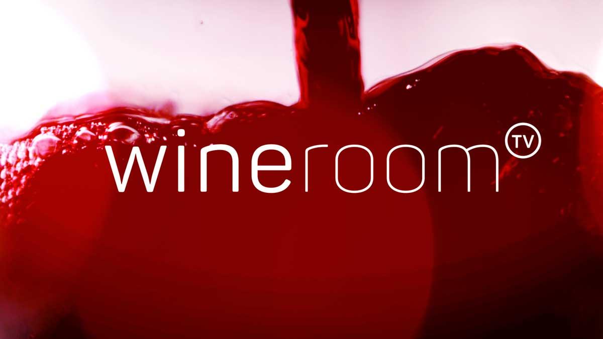 Station-ID von wineroomTV, dem Wein-Channel bei YouTube