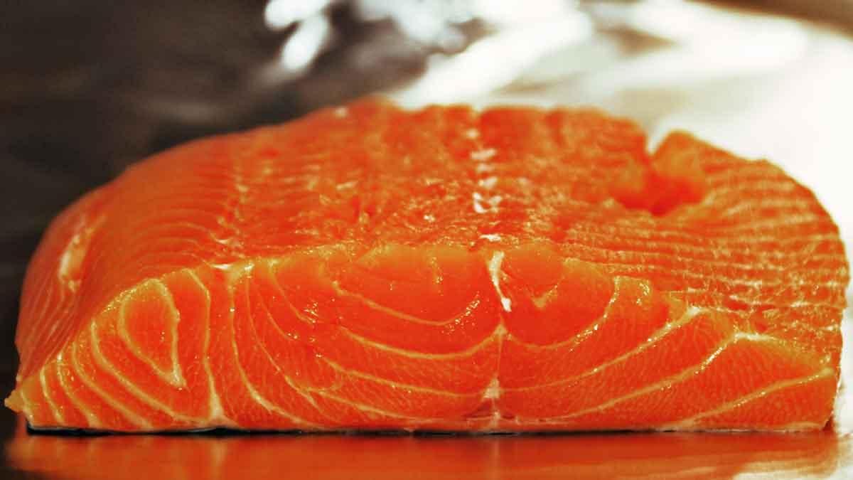Herstellung Graved Lachs – Step Eins: pures Lachsfleisch