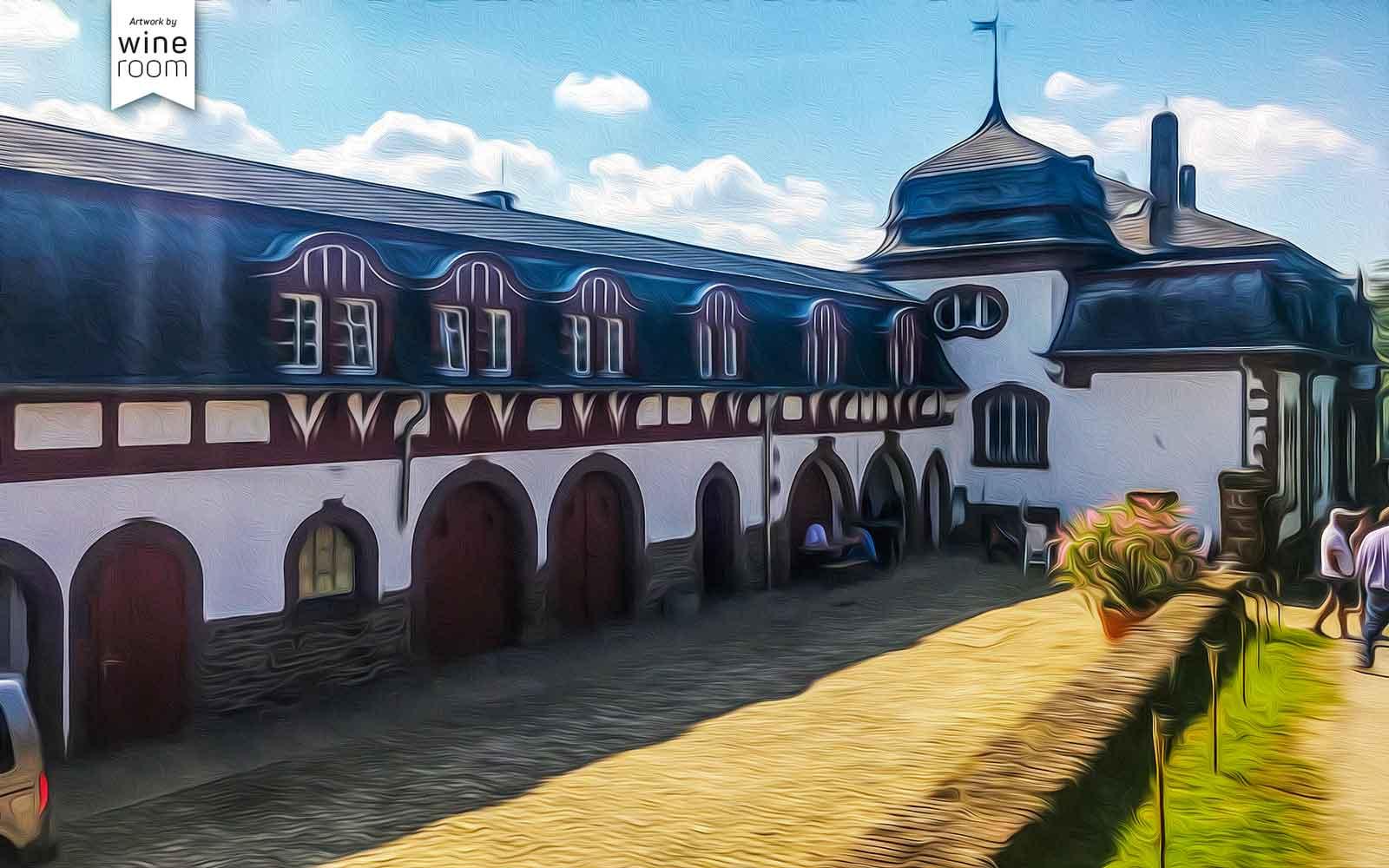 Aussenansicht Schloss Saarstein