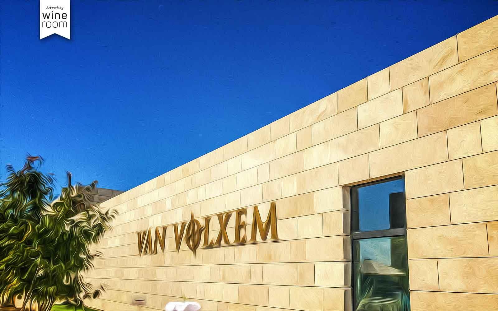Van Volxem neues Gebäude Tasting-Kubus