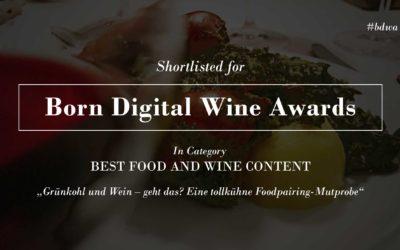 """Nominiert für """"Best Food and Wine Content"""": Reportage über eine tollkühne Foodpairing-Challenge"""