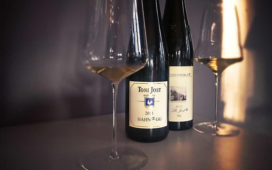 The Battle – Ten Years After: Mittelrhein Großes Gewächs 2011 Toni Jost vs. Ratzenberger